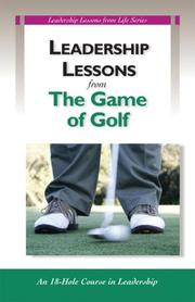 Cover of: Leadership Lessons from Golf