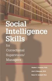 Cover of: Social Intelligence Skills for Correctional Managers