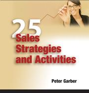 Cover of: 25 Sales Strategies and Activities