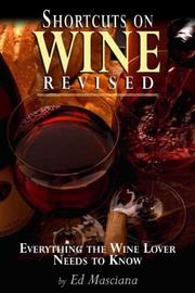 Cover of: Shortcuts on Wine Revised