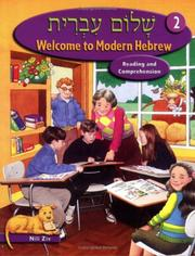 Cover of: Welcome to Modern Hebrew, Level 2