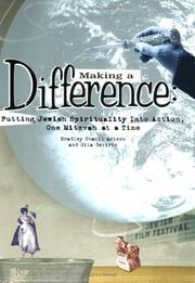 Cover of: Making a Difference: Putting Jewish Spirituality into Action, One Mitzvah at a Time
