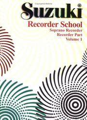 Cover of: Suzuki Recorder School | Alfred Publishing