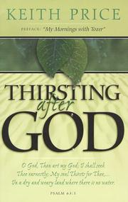 Cover of: Thirsting After God