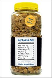 Cover of: May Contain Nuts | Michael J. Rosen