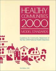 Cover of: Healthy Communities 2000