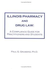 Cover of: Illinois Pharmacy and Drug Law