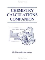 Cover of: Chemistry Calculations Companion