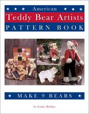 Cover of: American Teddy Bear Artists Pattern Book