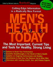 Cover of: Men's Health Today