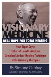 Cover of: Visionary Medicine | Simone Gabbay