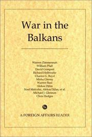 Cover of: War in the Balkans: A Foreign Affairs Reader