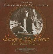 Cover of: Songs of My Heart