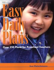 Cover of: Easy Daily Plans