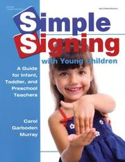 Cover of: Simple Signing With Young Children