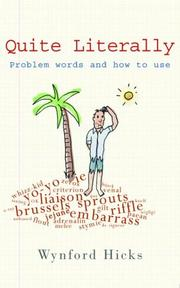 Cover of: Problem words | Wynford Hicks