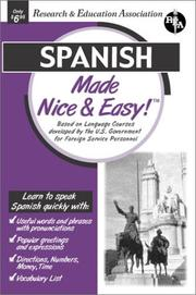 Cover of: Spanish Made Nice & Easy (Languages Made Nice & Easy)