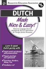 Cover of: Dutch Made Nice & Easy (Languages Made Nice & Easy)