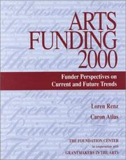 Cover of: Arts Funding 2000 | Loren Renz