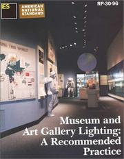 Cover of: Museum and Art Gallery Lighting  |