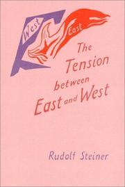 Cover of: The tension between East and West