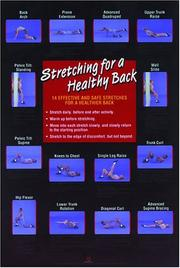 Cover of: Stretching for a Healthy Back Poster (Flexibility Poster) | Human Kinetics