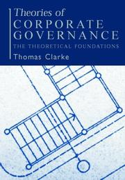 Cover of: Theories of Corporate Governance