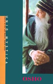 Cover of: Unio Mystica: Poetry of the Sufi Mystic, Hakim Sanai