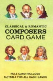 Cover of: Composers Card Game |