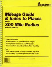 Cover of: 300 Mile Radius (From Nyc) Guide | Hagstrom Map Company