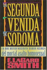 Cover of: LA Segunda Venida De Sodoma by F. LaGard Smith