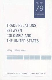 Cover of: Trade Relations Between Colombia And the United States