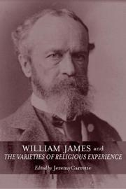 Cover of: William James and The Varieties of Religious Experience