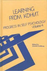 Cover of: Learning From Kohut