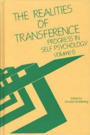 Cover of: The Realities of Transference