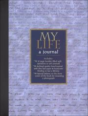 Cover of: My Life, a Journal | Hartley and Marks Publishers