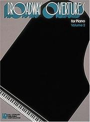 Cover of: Broadway Overtures For Piano Vol2 | Hal Leonard Corp.