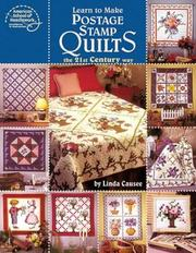 Cover of: Learn to Make Postage Stamp Quilts | Linda Causee