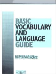 Cover of: Basic Vocabulary and Language Guide | Daniel Ling