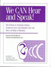We Can Hear and Speak