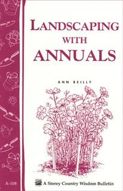Cover of: Landscaping with Annuals