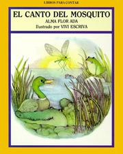 Cover of: El Canto del Mosquito/Song of the Teeny-Tiny Mosquito