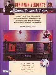 Cover of: Some Towns and Cities