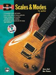 Cover of: Scales & Modes for Guitar (with CD) | Steve Hall, Ron Manus