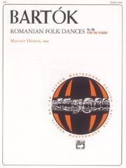 Cover of: Romanian Folk Dances, Sz. 56, for the piano