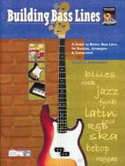 Cover of: Building Bass Lines