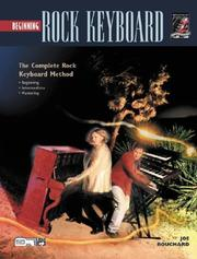 Cover of: Beginning Rock Keyboard (Complete Rock Keyboard Method)