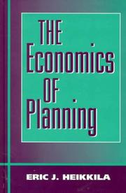 The Economics of Planning