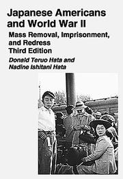 Cover of: Japanese Americans And World War II | Donald Teruo Hata