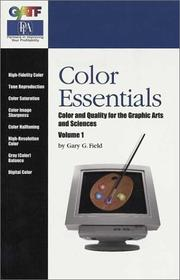 Cover of: Color Essentials | Gary G. Field